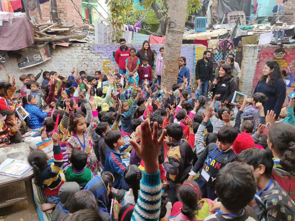 My First visit to pehchaan the street school - Nidhi